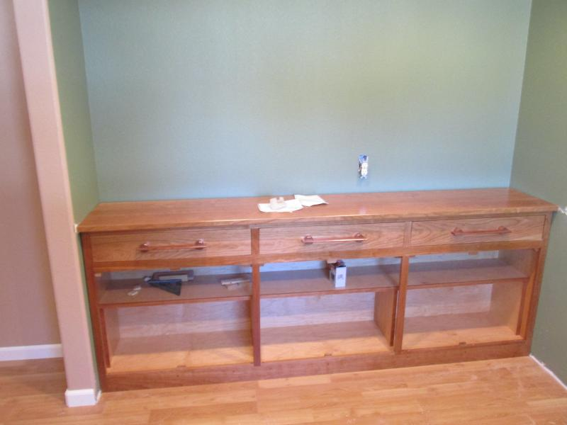 Base  Cherry Bookcase