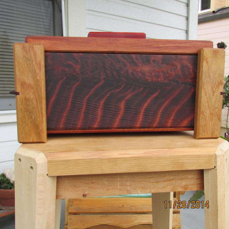 Redwood Burl Box